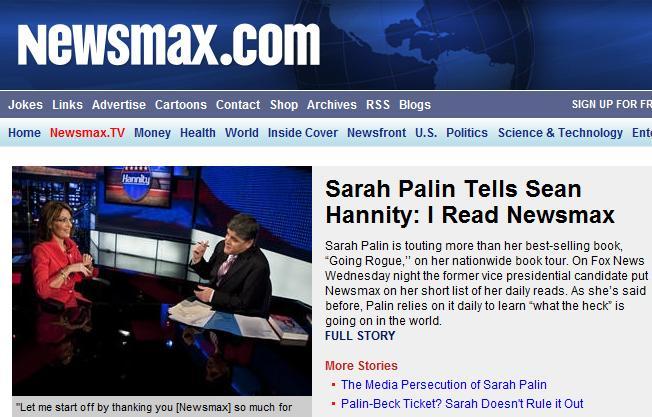Sarah and Newsmax