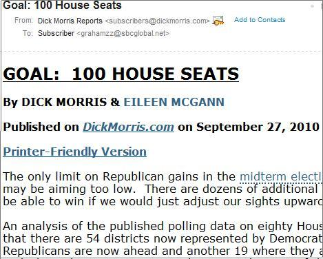 Dick morris website You guys