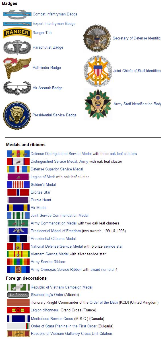 Ronald Reagan's National Security Adviser, George H. W. Bush's Chairman Of The Joint Chiefs of ...