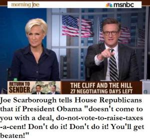 scarborough and fiscal cliff advice