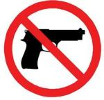 no guns in Kansas sticker
