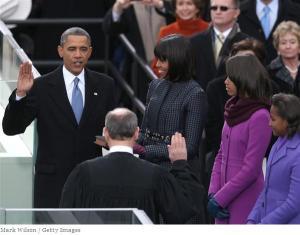obama swearing in