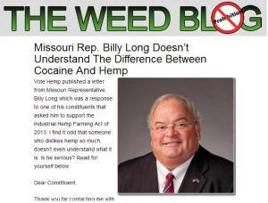 billy long and hemp