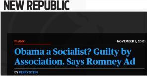 romney socialist ad