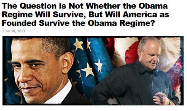 obama regime
