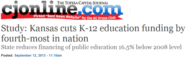 kansas education cuts
