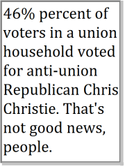 christe and unions