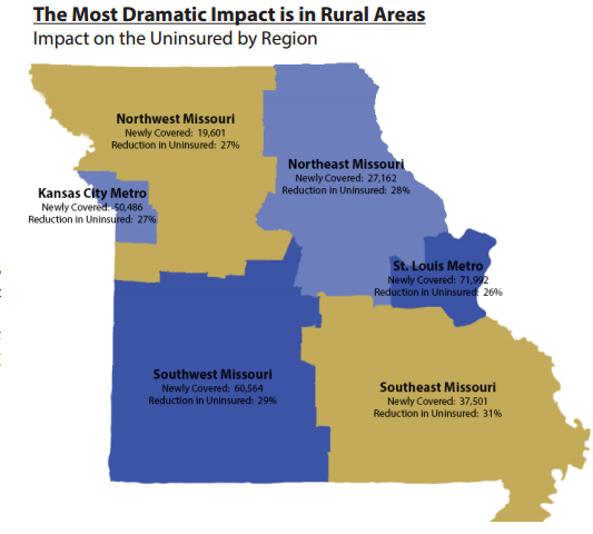 medicaid expansion map