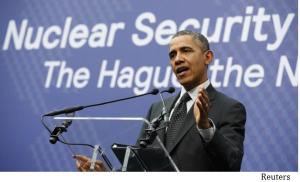 obama at the hague