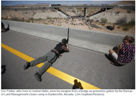bundy ranch sniper