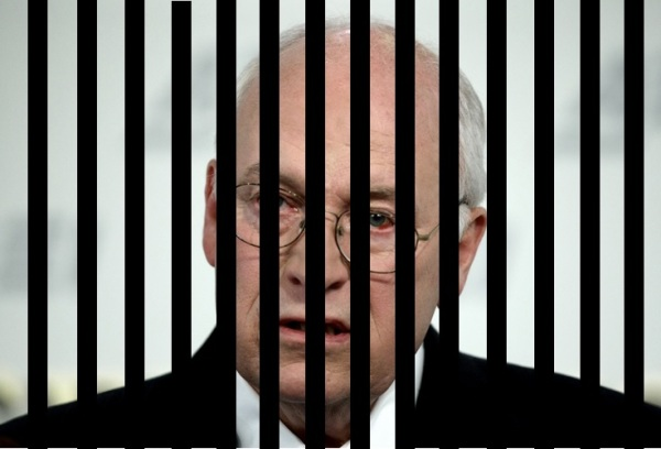 cheney behind bars