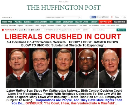 liberals crushed in court