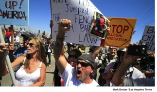 murrieta protesters