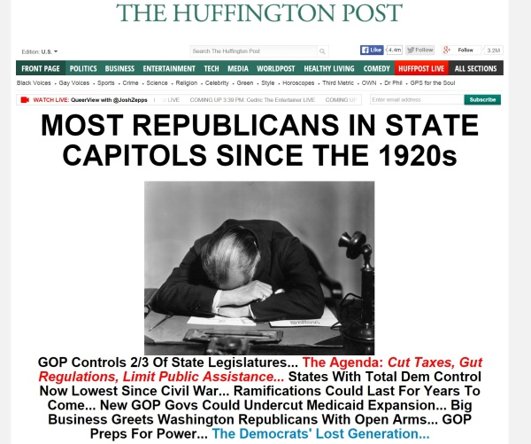huffpo post election header