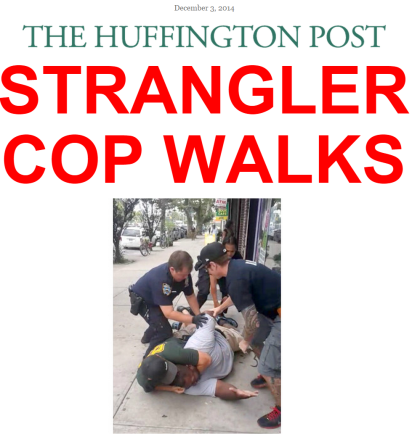 huffpo on eric garner non indictment