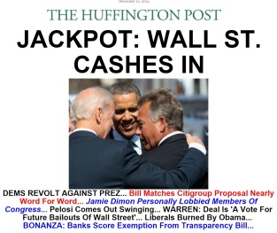 wall street cashes in
