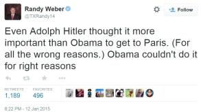 randy weber tweet