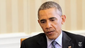 obama and new york times iran interview