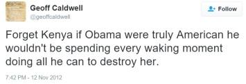 caldwell and obama destroying america