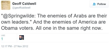 caldwell and the enemies of America