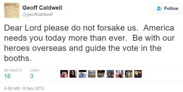 caldwell prayer