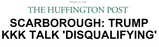 huffpo and scarborough