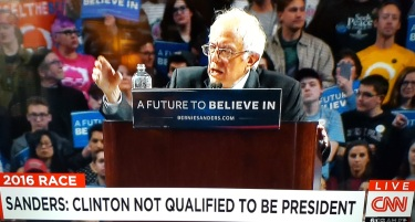 bernie on cnn not qualified.jpg