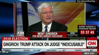gingrich on drumpf