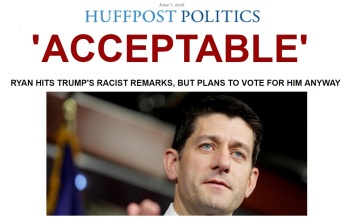 huffpo header on ryan