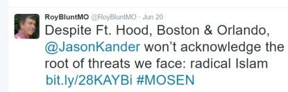 roy blunt tweet
