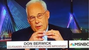 don berwick on msnbc