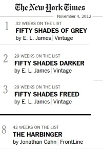 nyt bestseller list