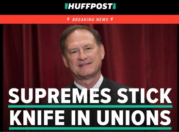 supreme court and unions
